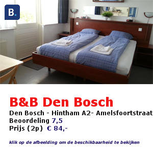 bed and breakfast den bosch hertogenbosch hintham