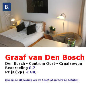bed and breakfast den bosch hertogenbosch graaf