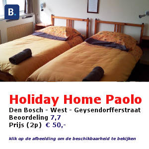 bed and breakfast den bosch hertogenbosch holiday home Paolo